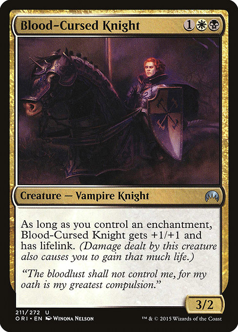 Blood-Cursed Knight (ORI)