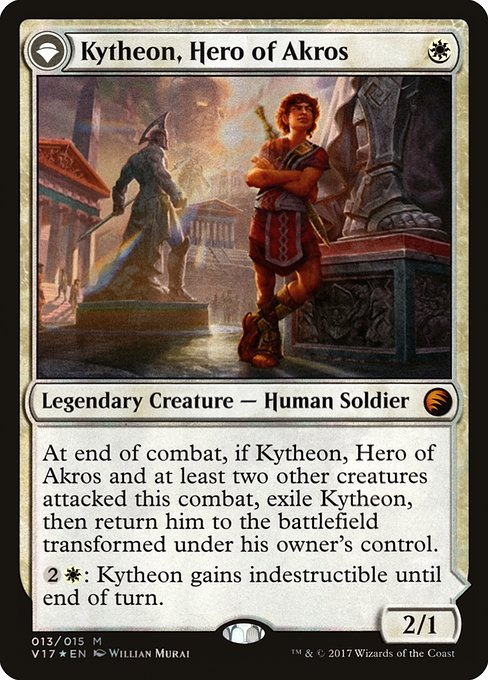 Kytheon, Hero of Akros // Gideon, Battle-Forged (V17)