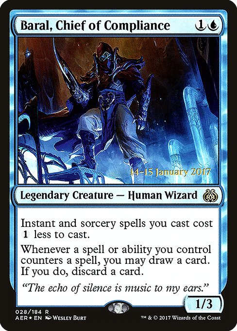 Baral, Chief of Compliance (PAER)