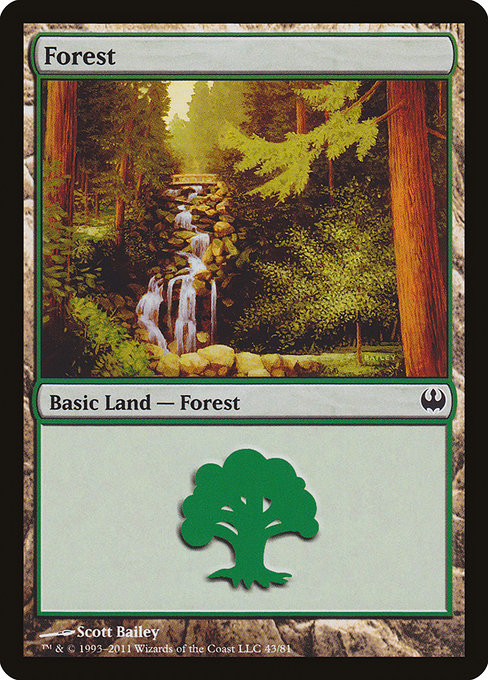 Forest - Duel Decks: Knights vs. Dragons