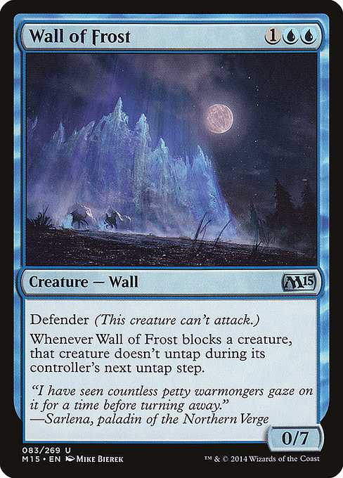 Wall of Frost (M15)