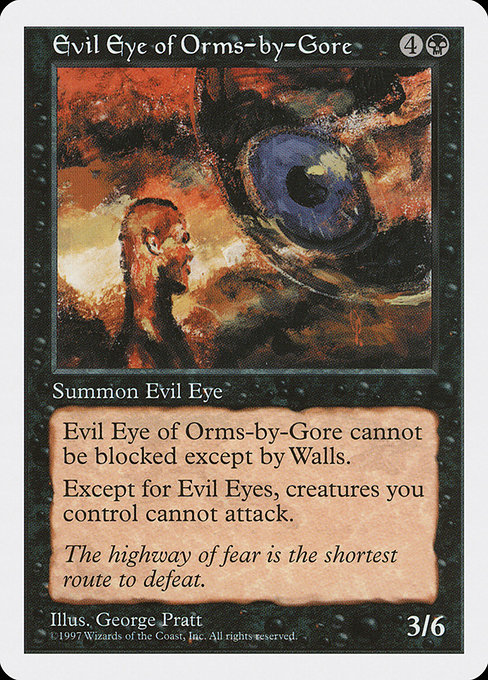 Evil Eye of Orms-by-Gore (5ED)