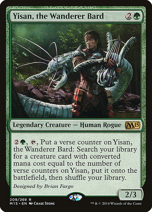 Yisan, the Wanderer Bard (M15)