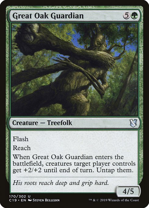 Great Oak Guardian (C19)
