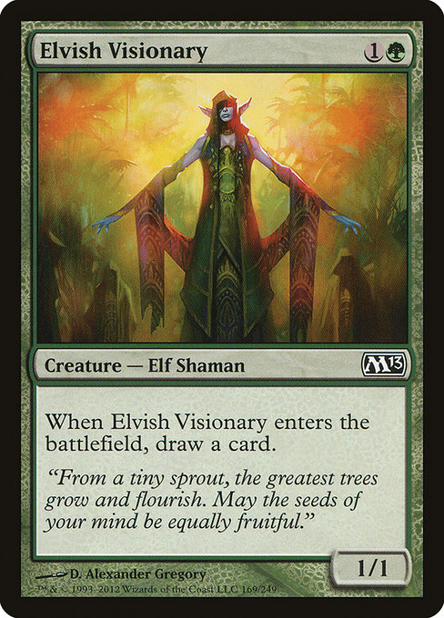 Elvish Visionary (M13)