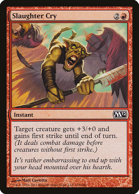 Slaughter Cry (M12)