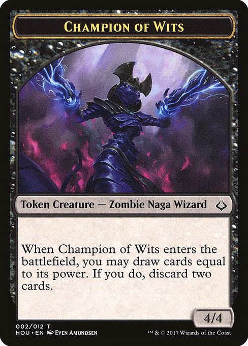 Champion of Wits (THOU)