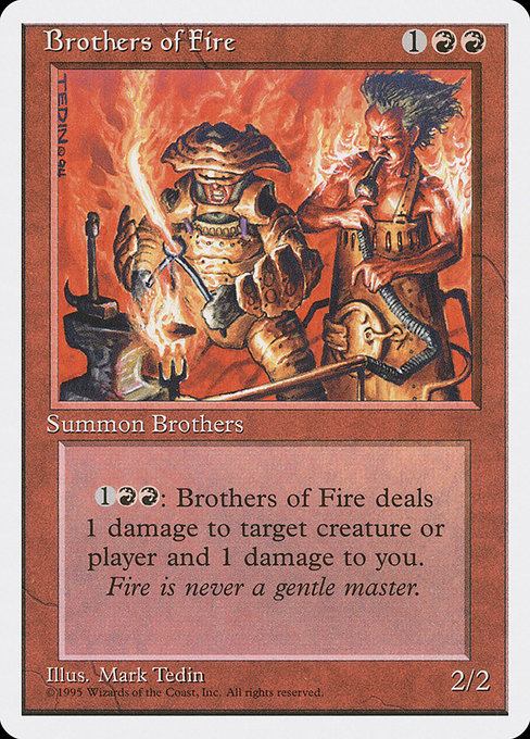 Brothers of Fire (4ED)