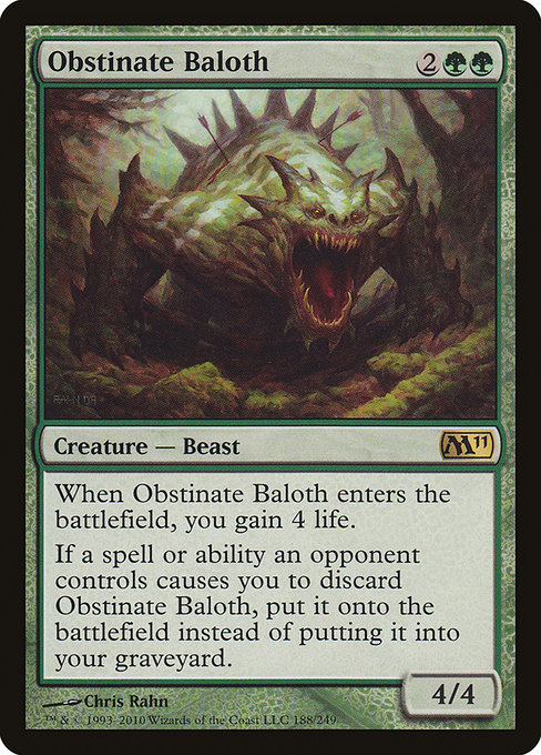 Obstinate Baloth (M11)
