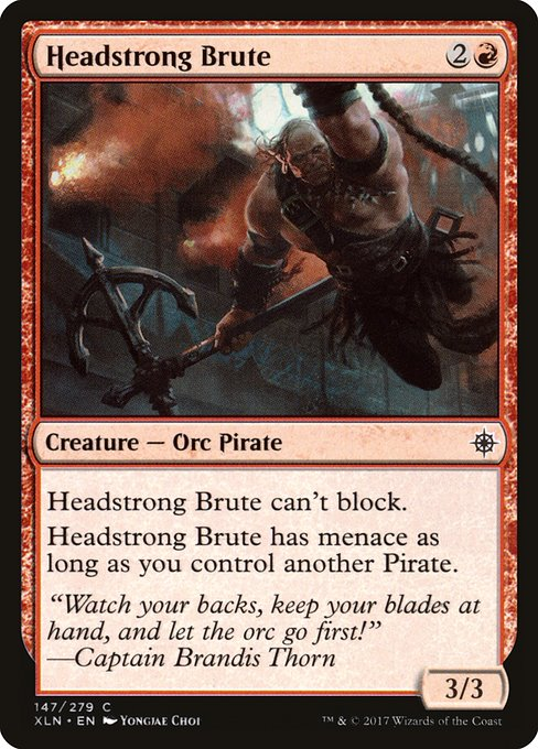 Headstrong Brute (XLN)