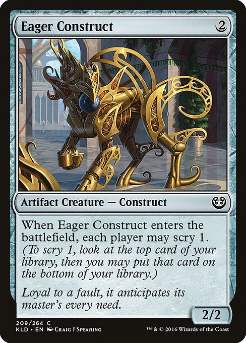 Eager Construct (KLD)