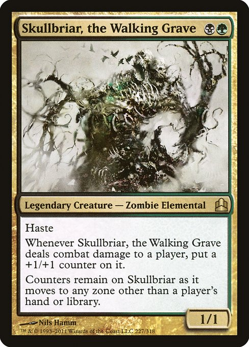 Skullbriar, the Walking Grave (CMD)