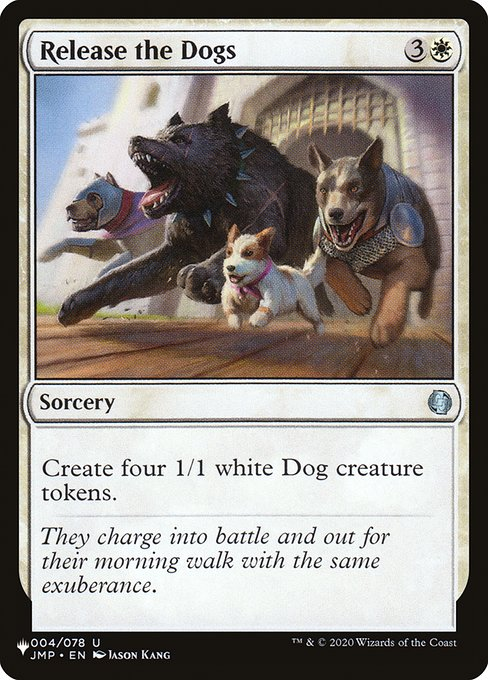 Release the Dogs (PLIST)