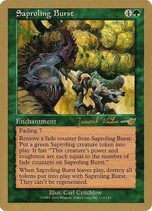 Saproling Burst (WC00)