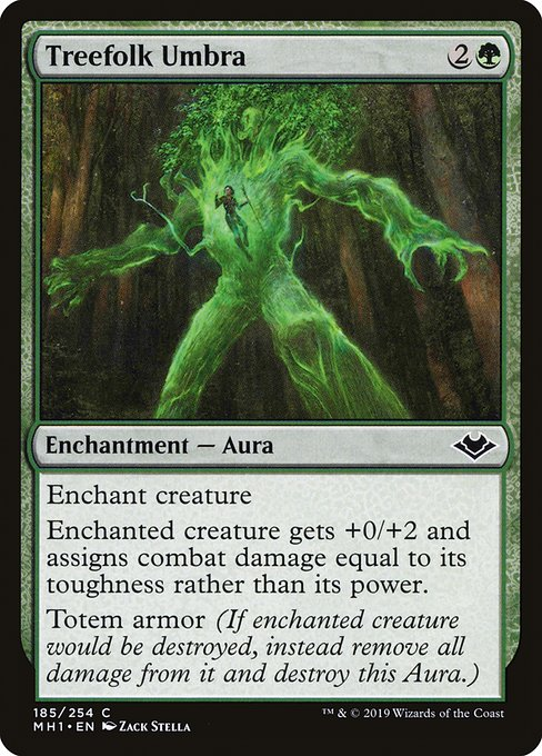 Treefolk Umbra (MH1)