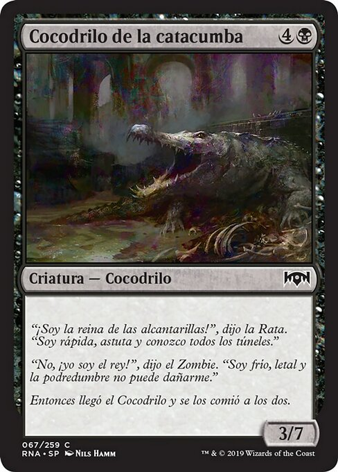 Catacomb Crocodile (RNA)