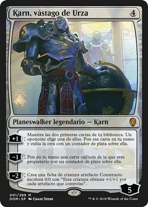 Karn, Scion of Urza (DOM)