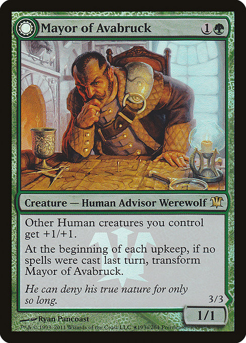 Mayor of Avabruck // Howlpack Alpha (PISD)