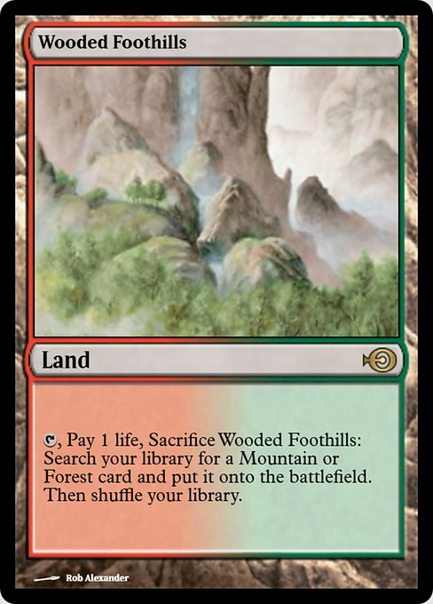 Wooded Foothills (PRM)