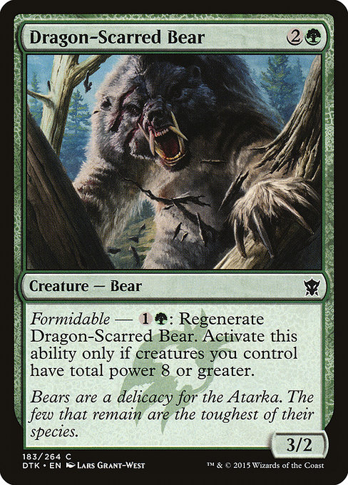 Dragon-Scarred Bear (DTK)