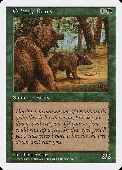 Grizzly Bears (5ED)
