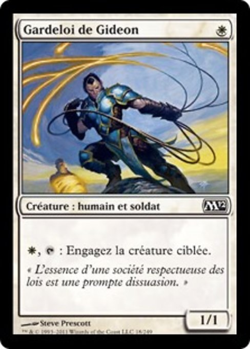 Gideon's Lawkeeper (M12)