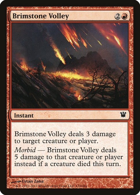 Brimstone Volley (ISD)