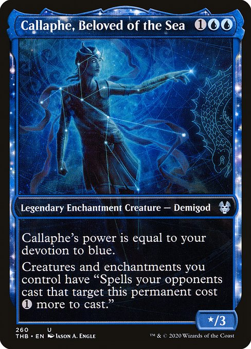 Callaphe, Beloved of the Sea (THB)