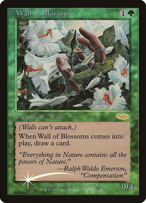 Wall of Blossoms (F02)