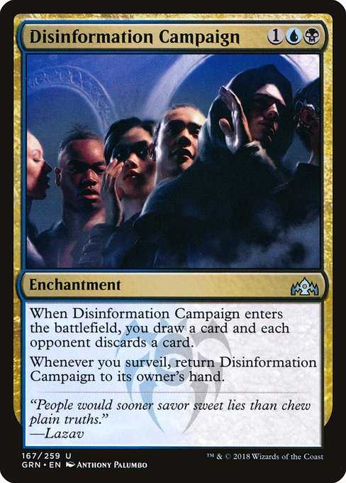 Disinformation Campaign (GRN)
