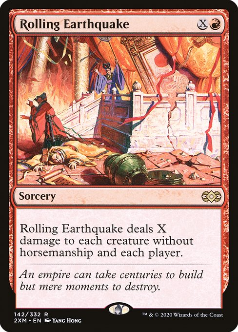 Rolling Earthquake (2XM)