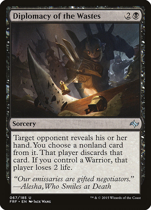Diplomacy of the Wastes (FRF)