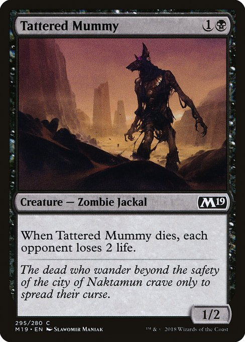 Tattered Mummy (M19)