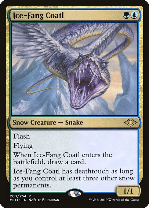 Ice-Fang Coatl (MH1)