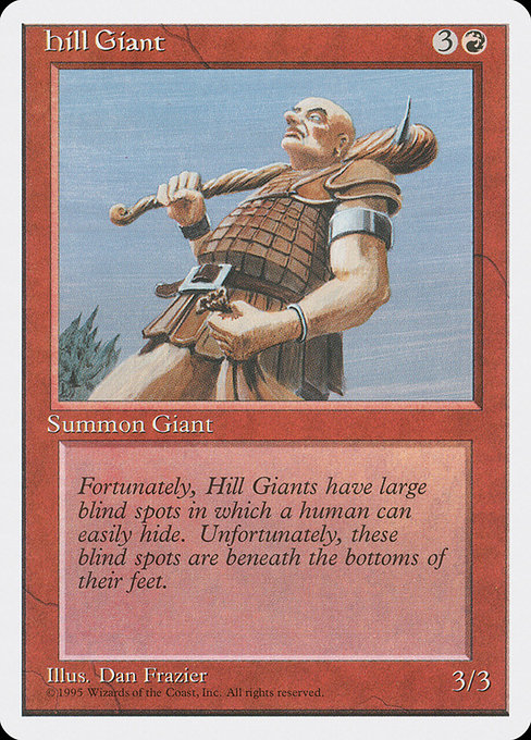 Hill Giant (4ED)