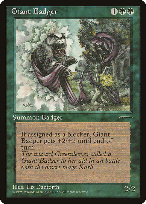 Giant Badger (PHPR)
