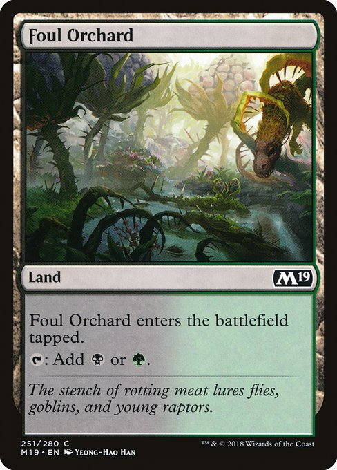 Foul Orchard (M19)