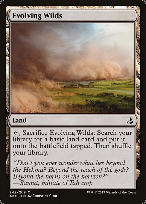 Evolving Wilds (AKH)