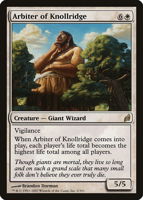 Arbiter of Knollridge (LRW)