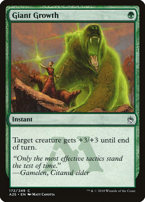 Giant Growth (A25)