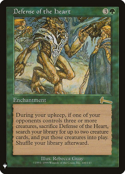 Defense of the Heart (MB1)