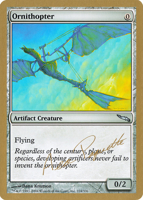 Ornithopter (WC04)