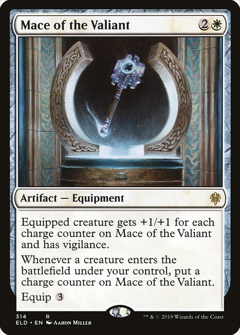 Mace of the Valiant (ELD)
