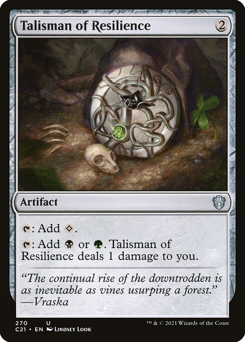 Talisman of Resilience (C21)
