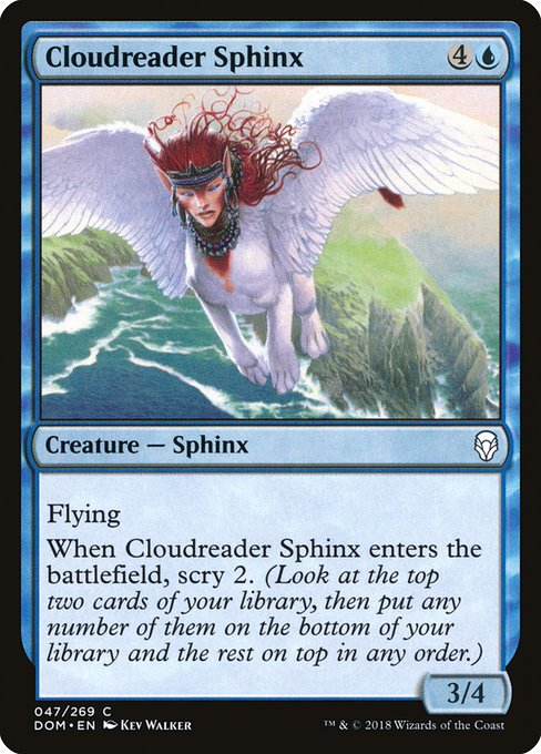 Cloudreader Sphinx (DOM)