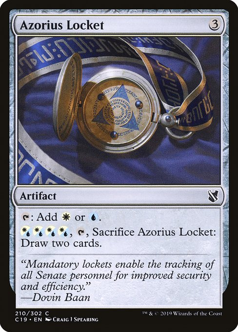 Azorius Locket (C19)