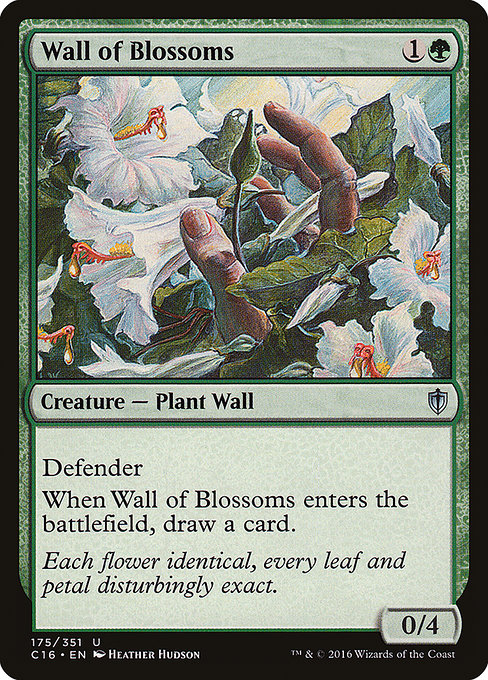 Wall of Blossoms (C16)