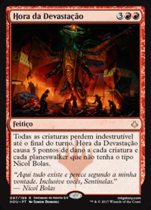 Hour of Devastation (HOU)