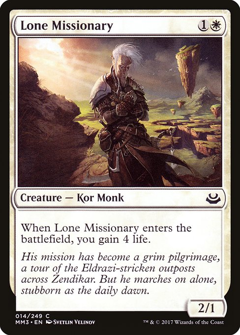 Lone Missionary (MM3)