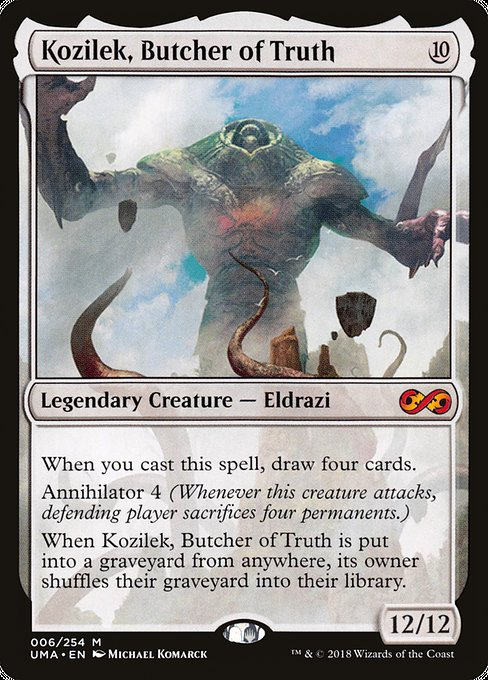 Kozilek, Butcher of Truth (UMA)